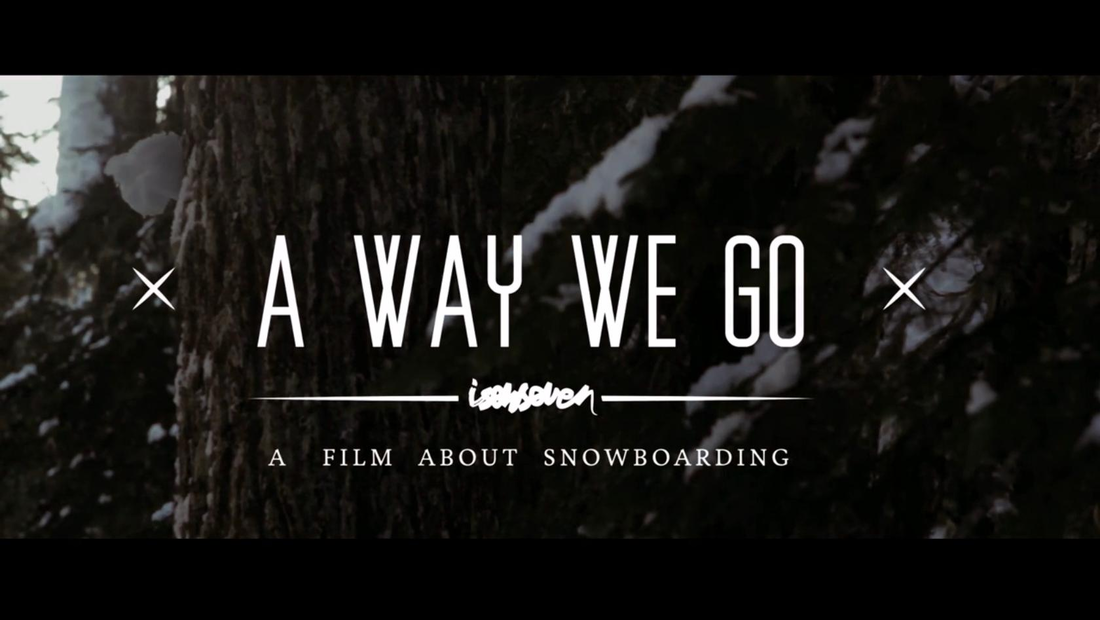 "ISENSEVEN ""A WAY WE GO\"" TRAILER 2013"